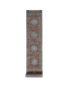 """2'6""""x15'10"""" Hand Knotted XL Runner Antiqued Haji Jalili Re-Creation Rug G48188"""