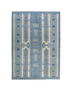 "8'9""x11'10"" Pure Wool Southwester Peshawar Berber Motif Design Rug G50862"