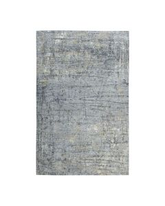 6'x9' Gray Modern Abstract Design Pure Wool Hand-Knotted Oriental Rug G51548
